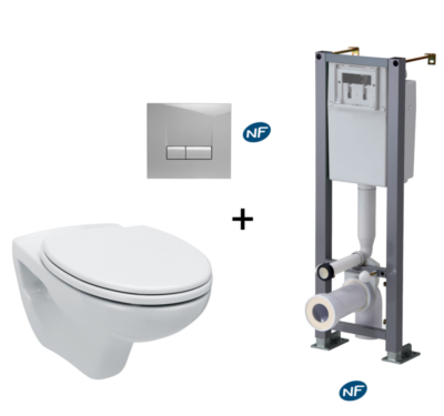 Pack WC bâti-support Anconetti